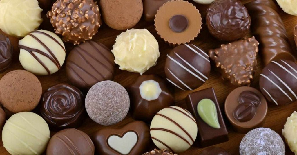 Chocolate for emotions in love