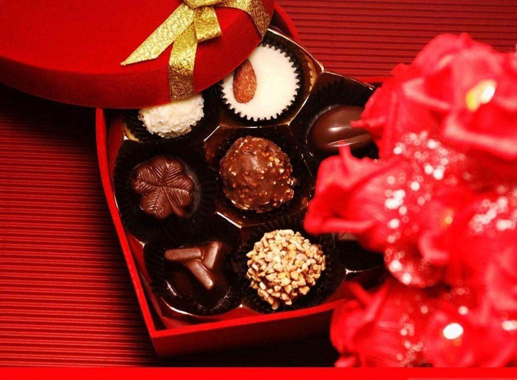 Chocolate sweet valentine gift