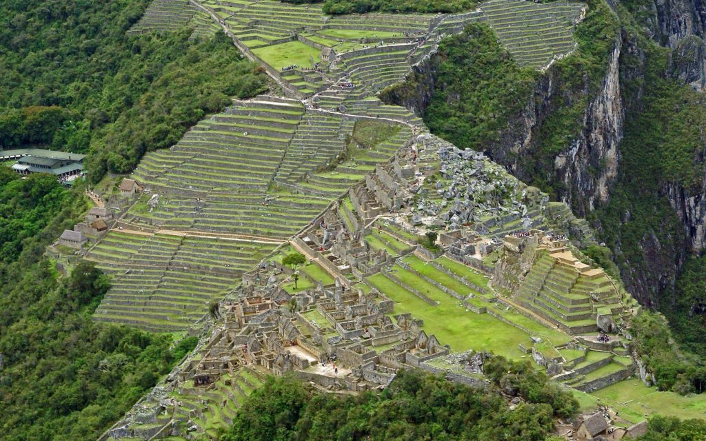 Admire the beauty of the holy place Machu Picchu - Peru
