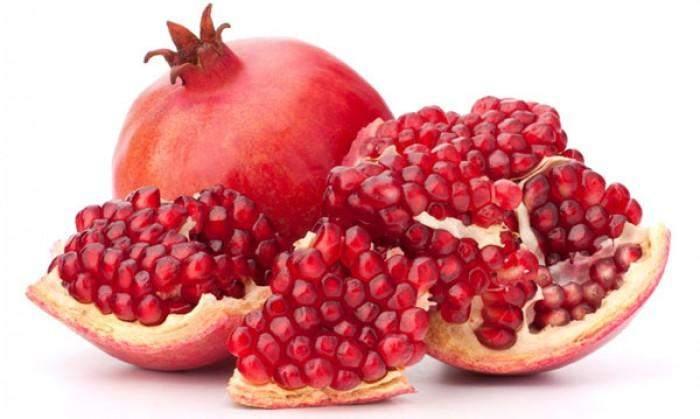 Red pomegranate antioxidants
