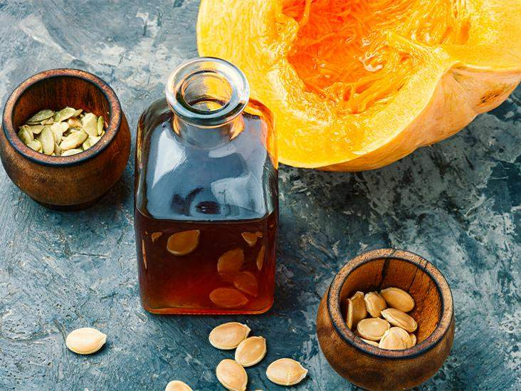 Reduce oil with pumpkin