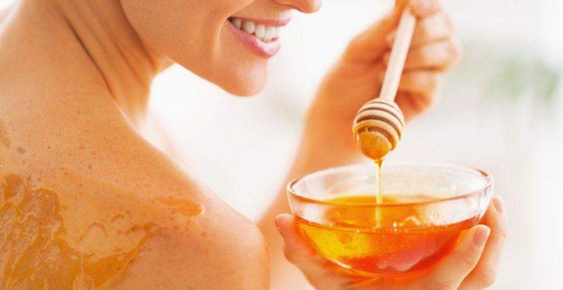 Skincare with honey