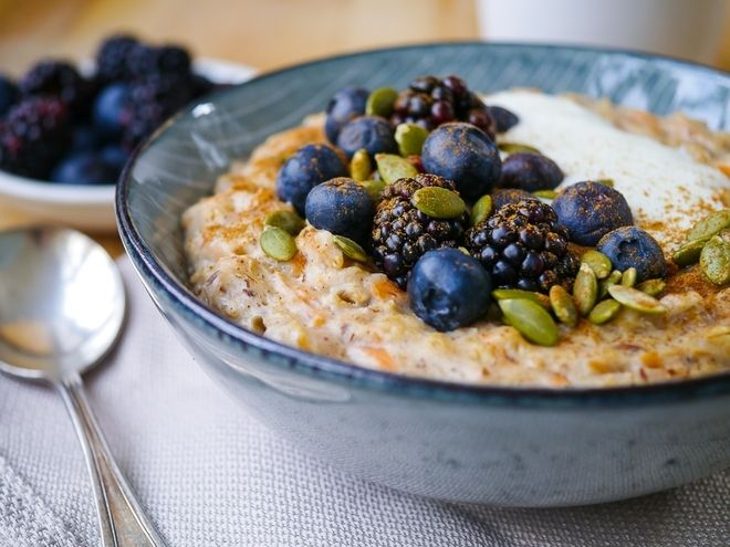 Chia seeds and oats help with healthy weight loss