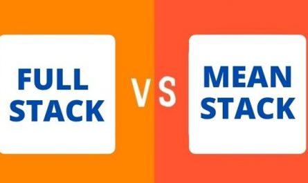full stack vs mean stack