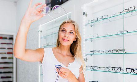 pair of glasses