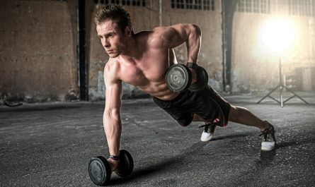Build Muscle With Dumbbells