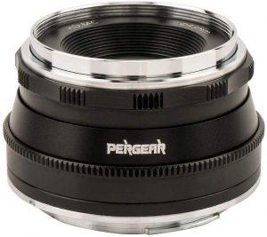 Pergear 25mm F1.8 Manual Focus Prime Fixed Lens